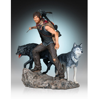 Statuette The Walking Dead Daryl & the Wolves 26 cm