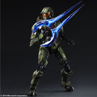 Figurine Halo 2 Play Arts Kai Master Chief Anniversary Edition 27 cm