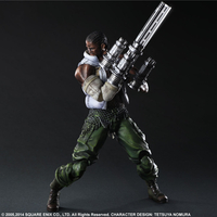 Figurine Final Fantasy VII Advent Children Play Arts Kai - Barret 28 cm