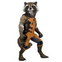 Figurine Les Gardiens de la Galaxie Rocket Raccoon 90 cm