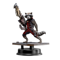 Statuette Les Gardiens de la Galaxie - Rocket Raccoon Red Suit Ver. 18 cm