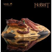 Statuette Le Hobbit La Désolation de Smaug - Smaug King Under The Mountain 8 cm