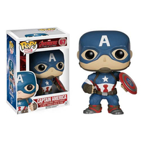 Figurine Bobble Head Avengers L'Ère d'Ultron POP! Captain America 10 cm