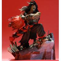Diorama Street Fighter Evil Ryu 34 cm