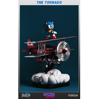 Statue Sonic the Hedgehog - Sonic The Tornado Diorama 44cm