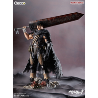 Statuette Berserk Guts Lost Children Arc The Black Swordsman Ver. 38 cm