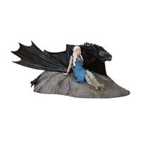 Statuette Game of Thrones Daenerys & Drogon 8 x 18 cm