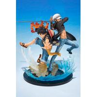 Figurine One Piece Figuarts ZERO Monkey D. Luffy et Trafalgar Law 5th Anniversary Edition