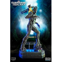 Statuette Guardians of the Galaxy - Rocket & Groot Prison Ver. 49cm