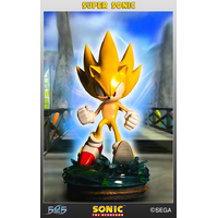 Statue Sonic the Hedgehog Modern Super Sonic 42cm