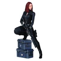 Statuette Captain America Le Soldat de l´hiver Black Widow 22cm