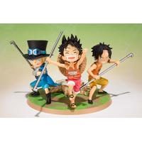Diorama One Piece Figuarts Zero Luffy, Sabo & Ace