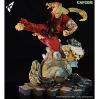 Diorama Street Fighter Battle of the Brothers Ken Masters 45cm