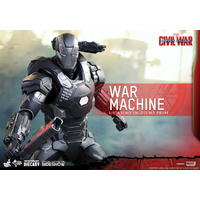 Figurine Captain America Civil War Movie Masterpiece Diecast 1/6 War Machine Mark III 32cm