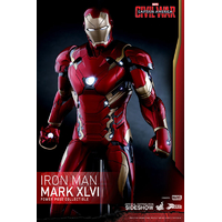 Figurine Captain America Civil War Power Pose Series Iron Man Mark XLVI 31cm