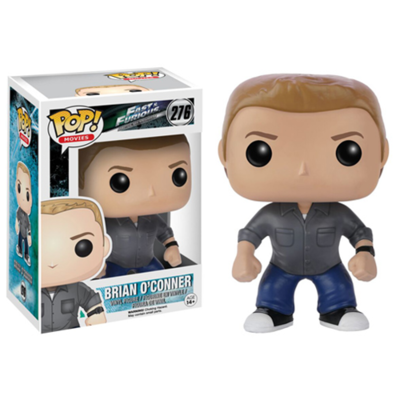 Figurine Fast & Furious POP! Brian O' Conner  9cm