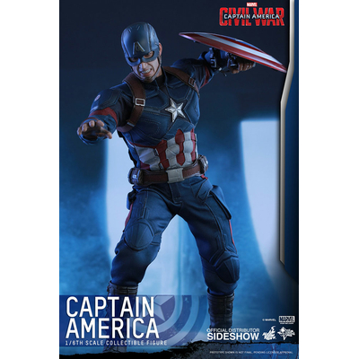Figurine Captain America Civil War Movie Masterpiece Captain America 31cm
