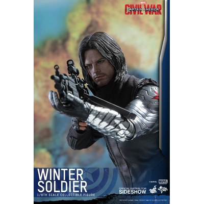 Figurine Captain America Civil War Movie Masterpiece Winter Soldier 31cm