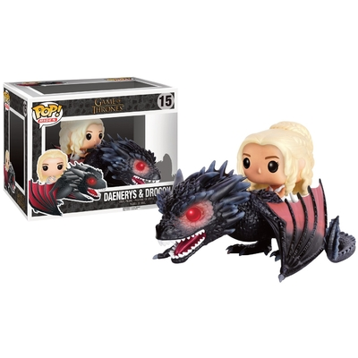 Figurine Game of Thrones Funko Pop! Rides Daenerys & Drogon 18cm