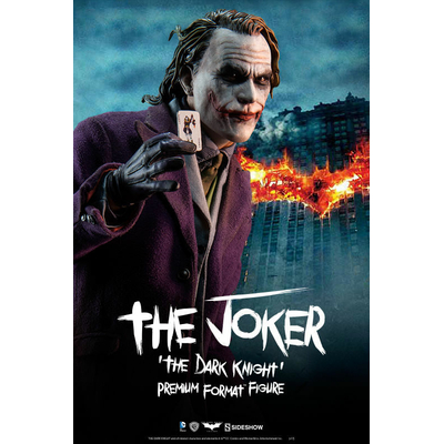 Statuette Batman The Dark Knight Premium Format The Joker 48cm