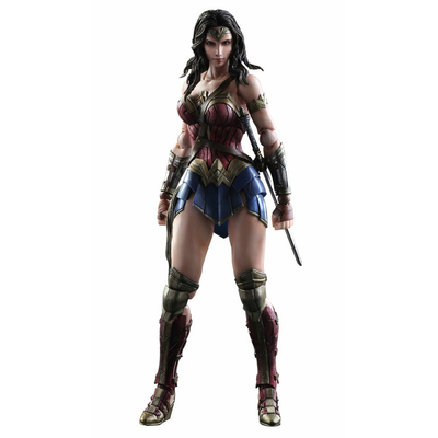 Figurine Batman v Superman Dawn of Justice Play Arts Kai Wonder Woman 25cm