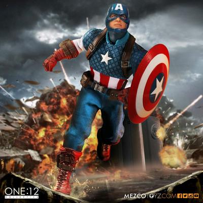 Figurine Marvel Universe Captain America 15cm