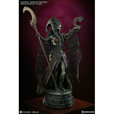 Statuette Court of the Dead Premium Format Cleopsis Eater of the Dead 62cm