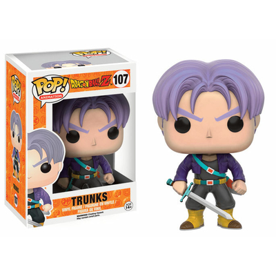 Figurine Dragon Ball Z Funko POP! Trunks 9cm