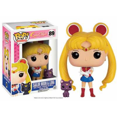 Figurine Sailor Moon Funko POP! Sailor Moon & Luna 9cm