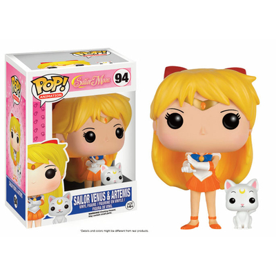Figurine Sailor Moon Funko POP! Sailor Venus & Artemis 9cm