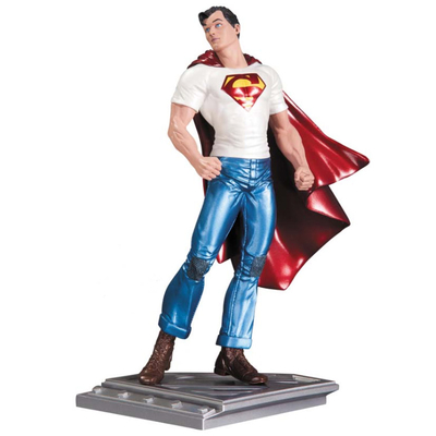 Statuette Superman The Man Of Steel Rags Morales 17 cm