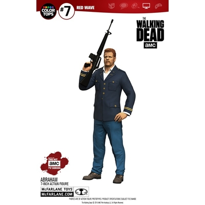Figurine The Walking Dead Color Tops  Abraham Ford 18cm