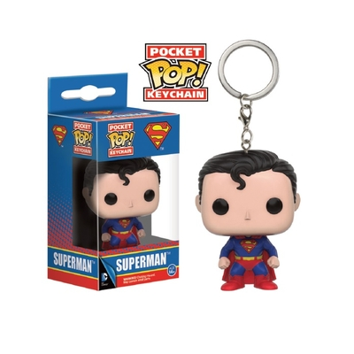 Porte-clés DC Comics Pocket POP! Superman 4cm