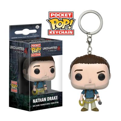 Porte-clés Uncharted 4 Pocket POP! Nathan Drake 4cm