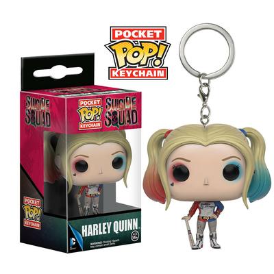 Porte-clés Suicide Squad Pocket POP! Harley Quinn 4cm