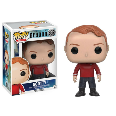 Figurine Star Trek Beyond Funko POP! Scotty 9cm