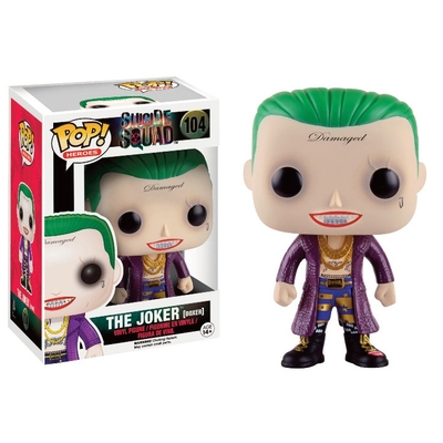Figurine Suicide Squad Funko POP! The Joker (Boxer) 9cm - Edition Limitée