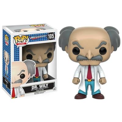 Figurine MegaMan Funko POP! Dr. Wily 9cm