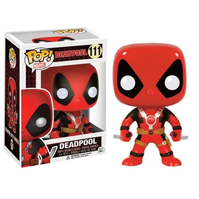 Figurine Marvel Comics Funko POP! Deadpool Two Swords 10cm