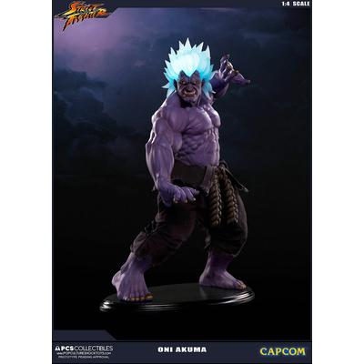 Statuette Street Fighter Oni Akuma 45cm