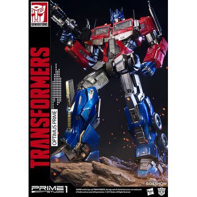 Statuette Transformers Generation 1 Optimus Prime 61cm