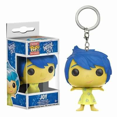 Porte-clés Vice Versa Pocket POP! Joie 4cm