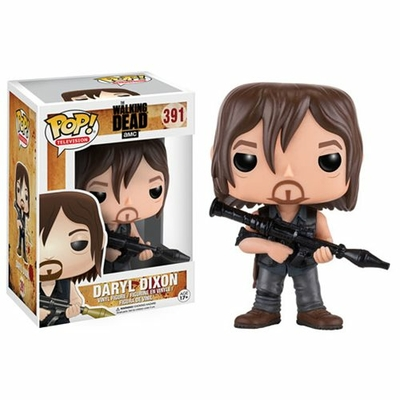 Figurine Walking Dead Funko POP! Daryl Dixon Rocket Launcher 9cm