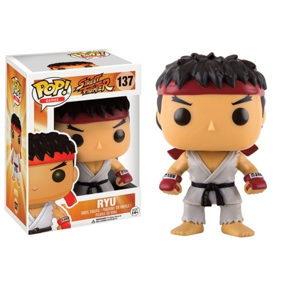 Figurine Street Fighter Funko POP! Ryu 9cm