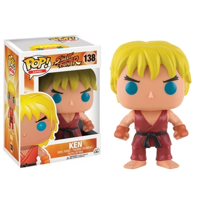 Figurine Street Fighter Funko POP! Ken 9cm