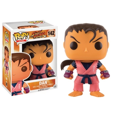 Figurine Street Fighter Funko POP! Dan 9cm