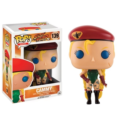 Figurine Street Fighter Funko POP! Cammy 9cm