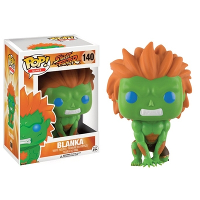 Figurine Street Fighter Funko POP! Blanka 9cm