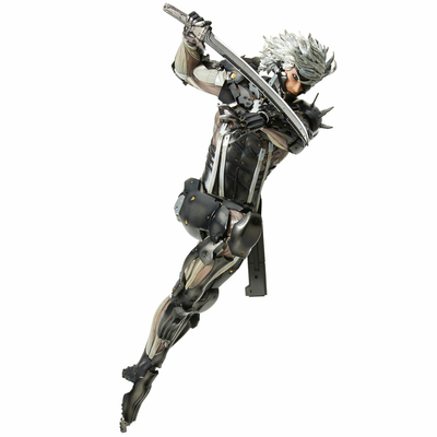 Statuette Metal Gear Rising Revengeance Hdge Technical No. 33 Raiden 25cm