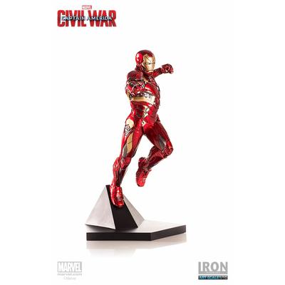 Statuette Captain America Civil War Iron Man Mark XLVI 23cm